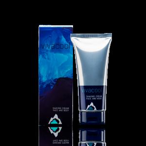 Крем для бритья лица и тела «VIVACOOL» 200 мл
